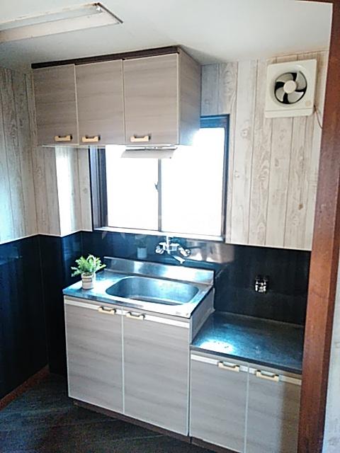 ウェステール栄 102号室のキッチン