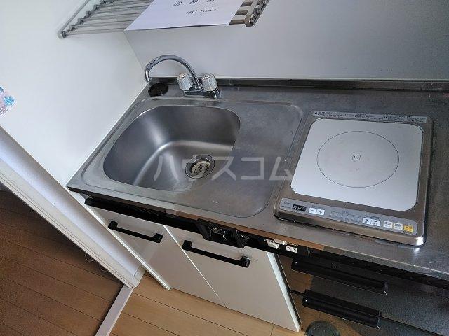 レオパレス21東八丁第3 201号室のキッチン