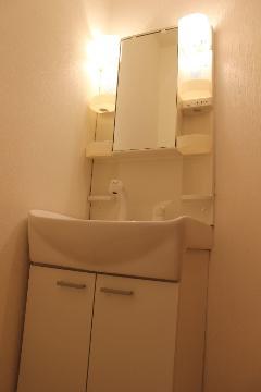 ブロードタウン神野 C棟 202号室の洗面所