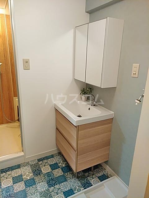 ベルガーデン向山3号館 303号室の洗面所
