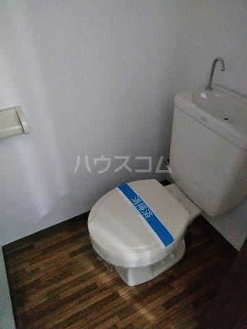 悠遊館 202号室のトイレ
