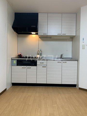 ヴィラスクエア2 202号室のキッチン