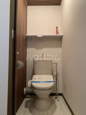ヴィラスクエア2 202号室のトイレ