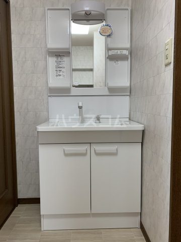 ヴィラスクエア2 202号室の洗面所