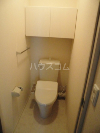 D-room kume 201号室のトイレ
