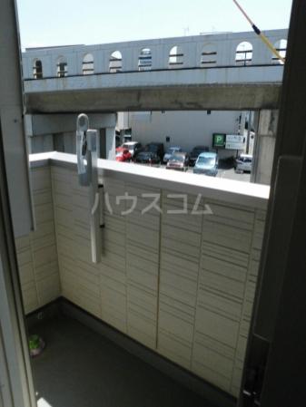 D-room kume 201号室のバルコニー