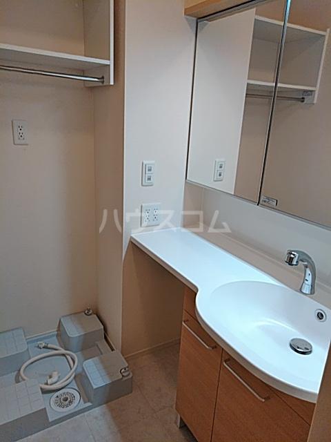 ティーアイビーA 101号室の洗面所