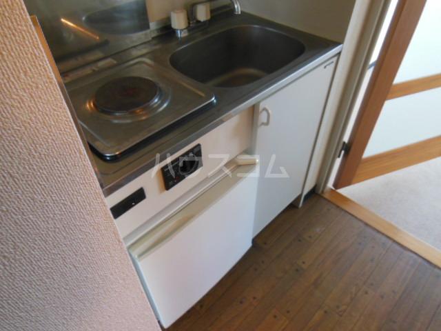 コモックピア 2D号室のキッチン