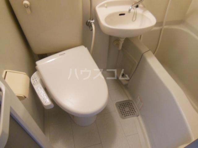 コモックピア 2D号室のトイレ