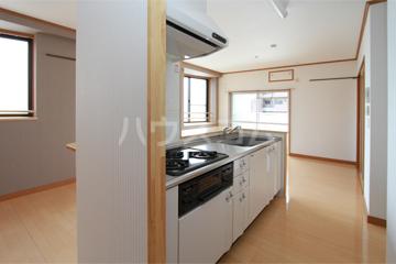 アルカサール石黒 402号室のキッチン