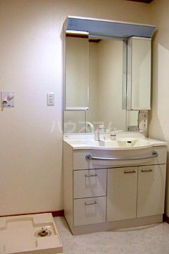 アルカサール石黒 402号室の洗面所