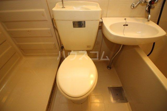 シティパーク薬院 204号室のトイレ