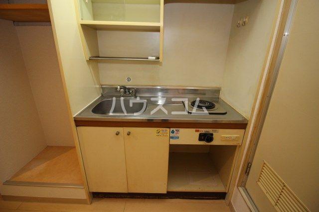 シティパーク薬院 204号室のキッチン