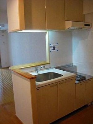 エトゥール博多駅前 1005号室のキッチン
