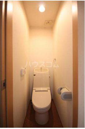 サンメルト高宮東 302号室のトイレ