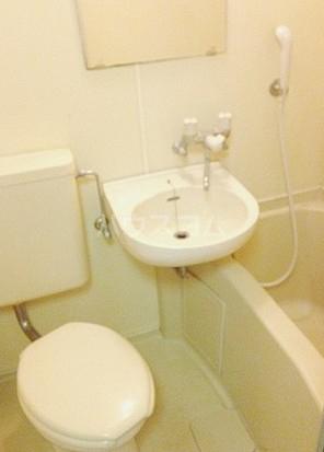 メゾン・ド・ポルトレー 304号室の洗面所