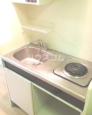 メゾン・ド・ポルトレー 304号室のキッチン