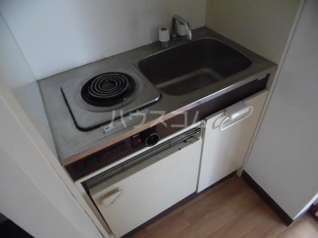 コーポタキ 203号室のキッチン