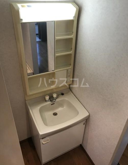 ハイム加陽 201号室の洗面所