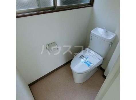 上野毛川口ビル 1号室のトイレ