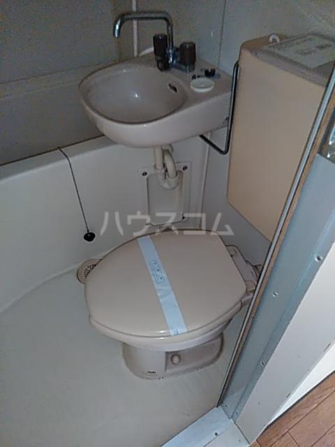 サンライク綱島 505号室のトイレ