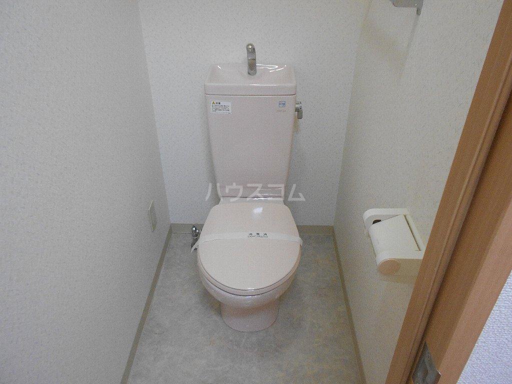 ラ カシータ大倉山 201号室のトイレ