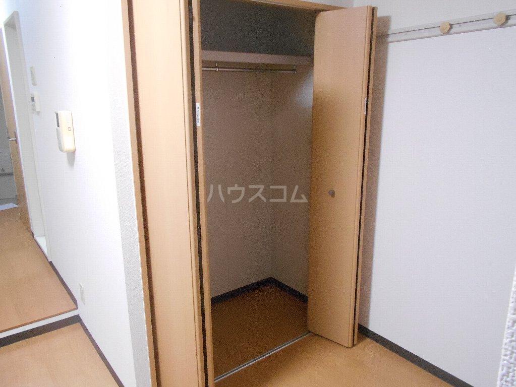 ラ カシータ大倉山 201号室の収納