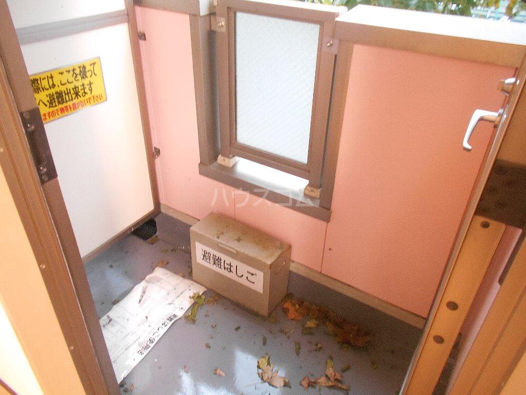 ラ カシータ大倉山 201号室のバルコニー