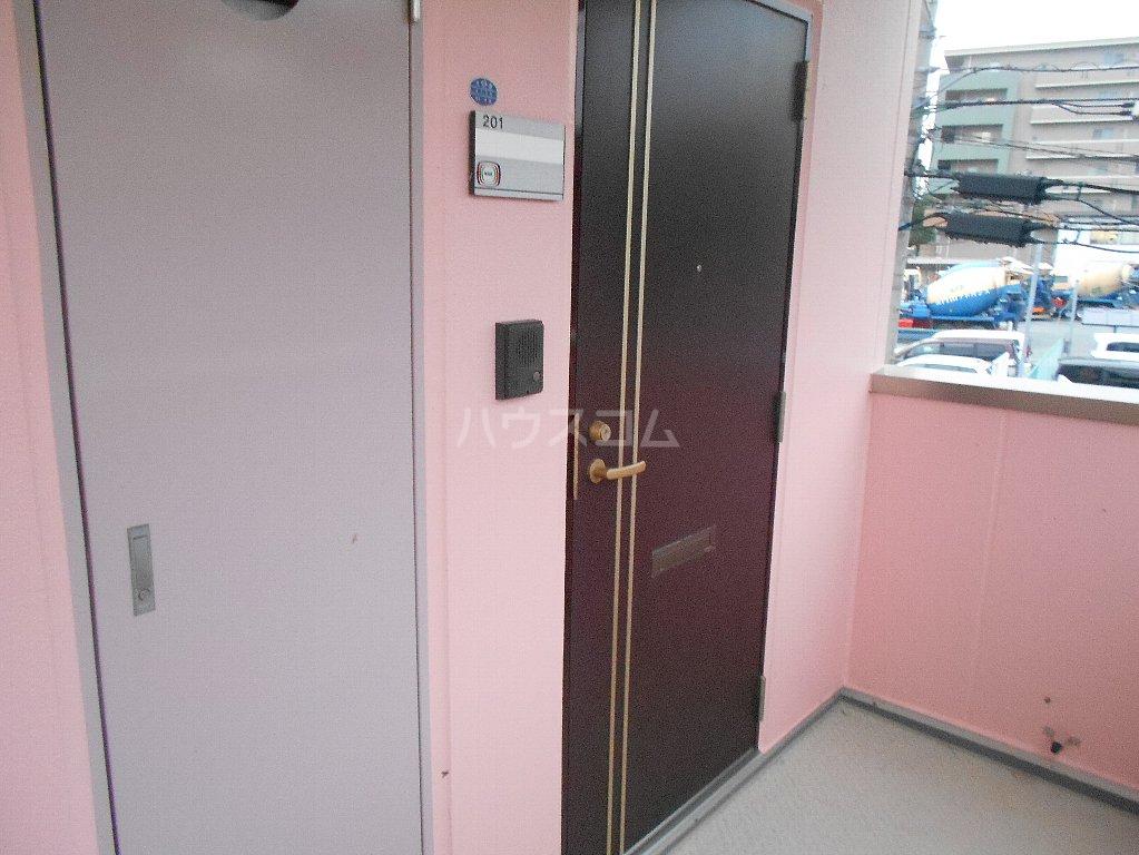 ラ カシータ大倉山 201号室の玄関