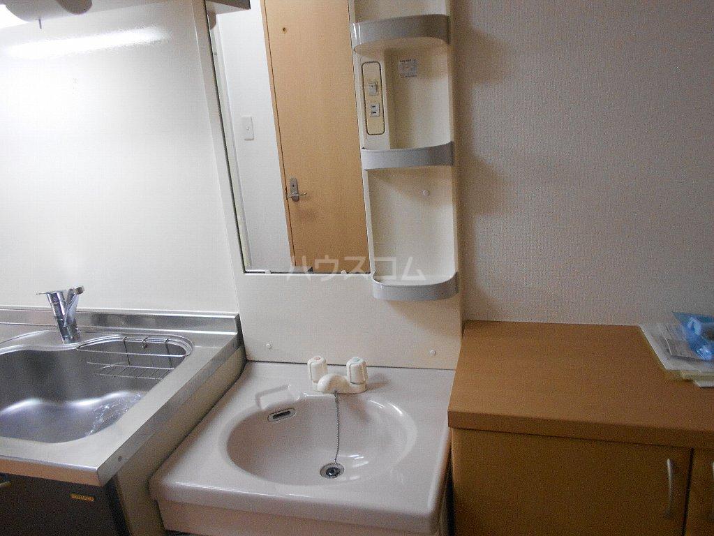 ラ カシータ大倉山 201号室の洗面所