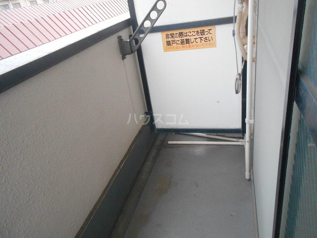 中川ビル 306号室のバルコニー