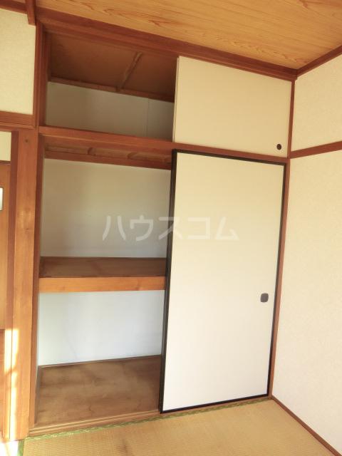 コーポコスモス 0203号室の収納