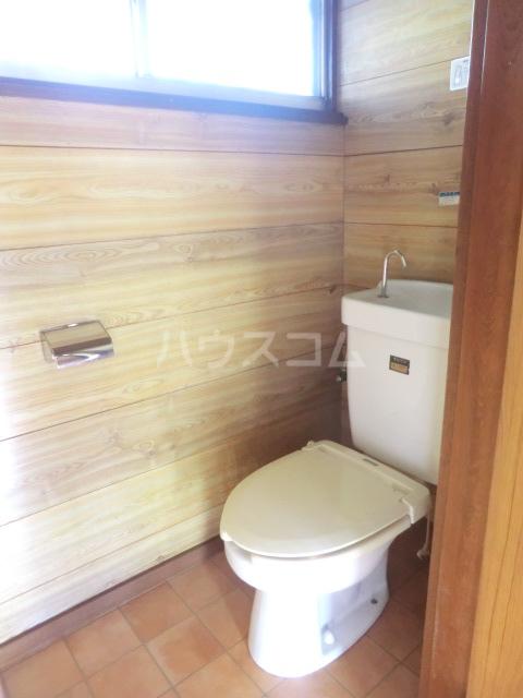 コーポコスモス 0203号室のトイレ