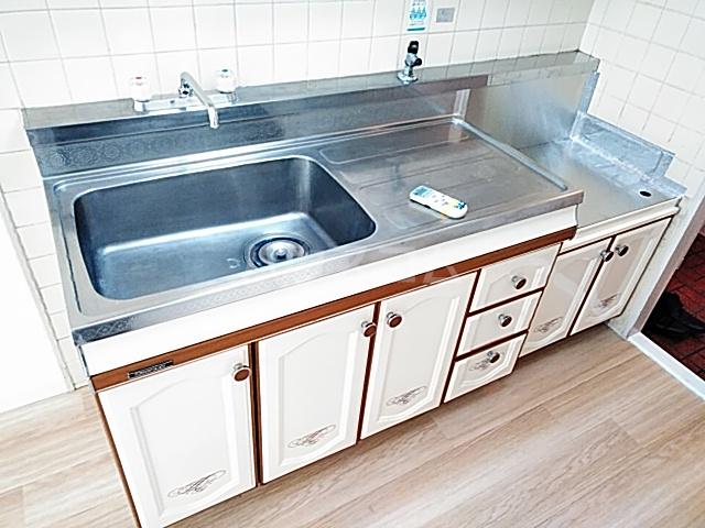 ライオンズマンション綱島 303号室のキッチン