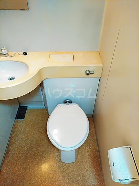 ライオンズマンション綱島 303号室のトイレ