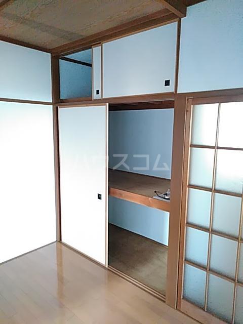スライブハイツ   206号室の収納