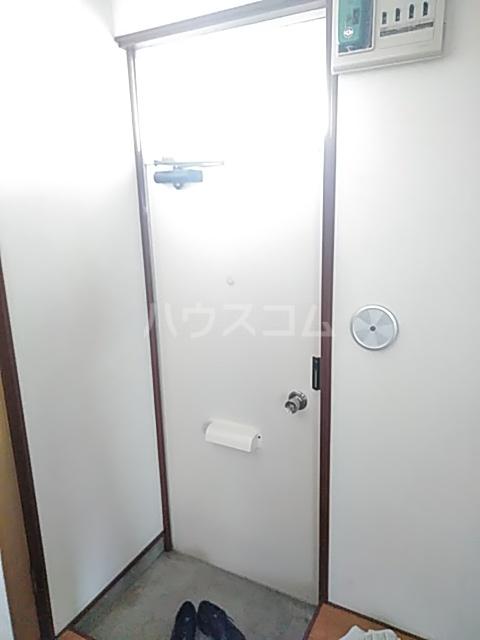 スライブハイツ   206号室の玄関