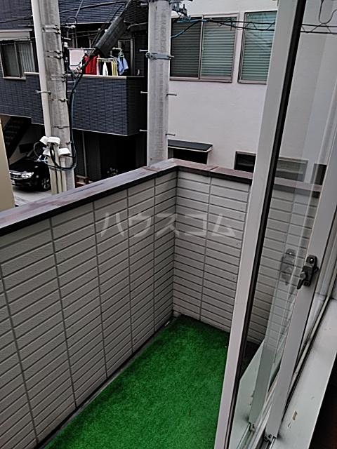 レオパレス松陰神社 201号室のバルコニー