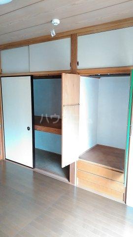 コーポ秋元 101号室の収納