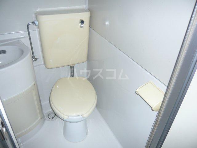 宮入荘 S3号室のトイレ