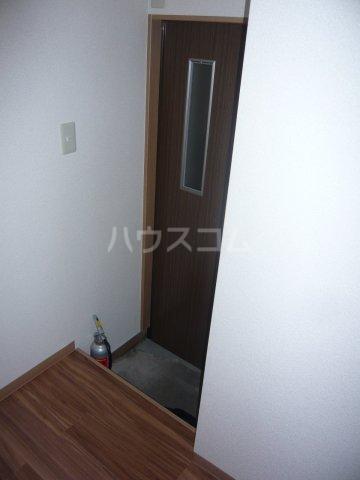 宮入荘 S3号室の玄関
