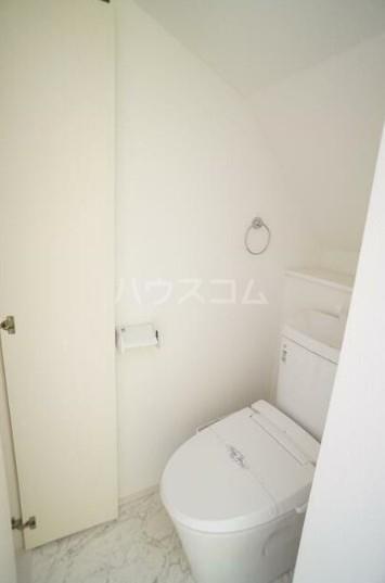 サークルハウス都立大学 102号室のトイレ