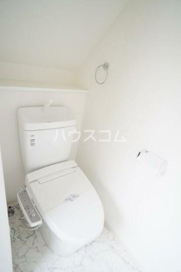 サークルハウス都立大学 203号室のトイレ