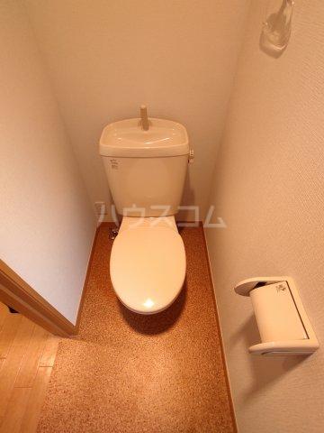 ラシーヌ 1R号室のトイレ