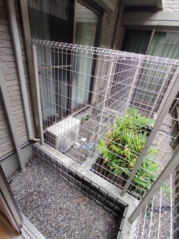 ラシーヌ 1R号室の庭