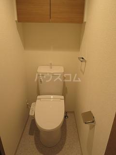 パティーナ下丸子 410号室のトイレ