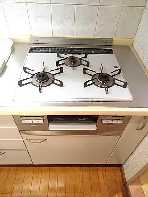 エド・コモン西早稲田 502号室のキッチン