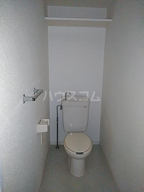ハイムてつ 204号室のトイレ