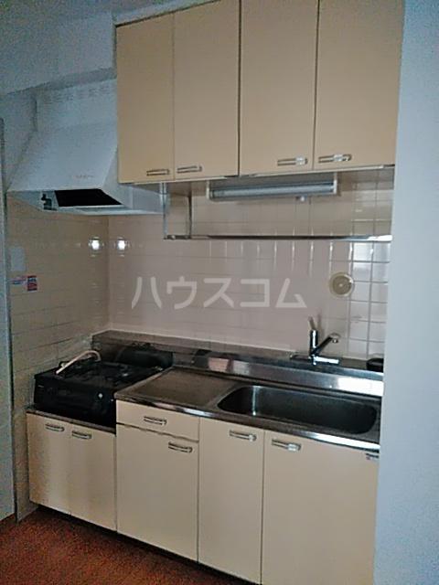 ハイムてつ 204号室のキッチン