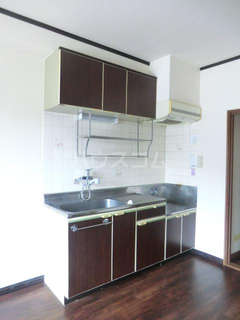 エレガンス パーク 204号室のキッチン